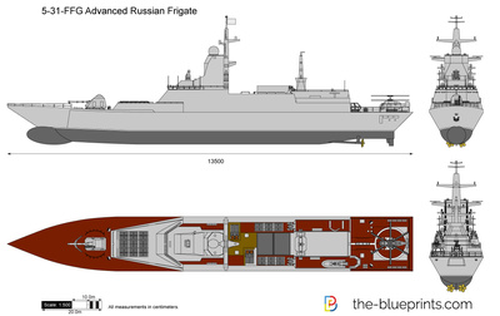 5-31-FFG Advanced Russian Frigate