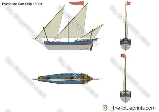 Byzantine War Ship 1500s