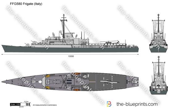 FFG580 Frigate (Italy)