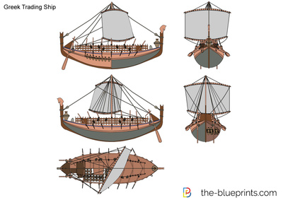 Greek Trading Ship