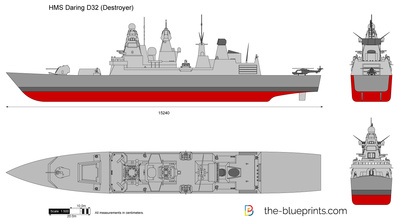 HMS Daring DD32 (Destroyer)