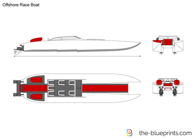 Offshore Race Boat