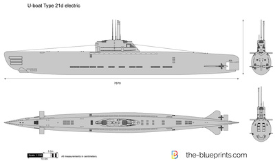 U-boat Type 21d electric