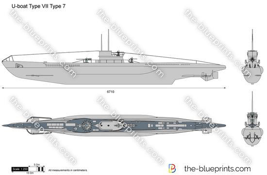 U-boat Type VII Type 7