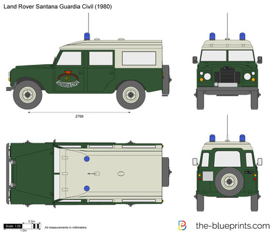 Land Rover Santana Guardia Civil