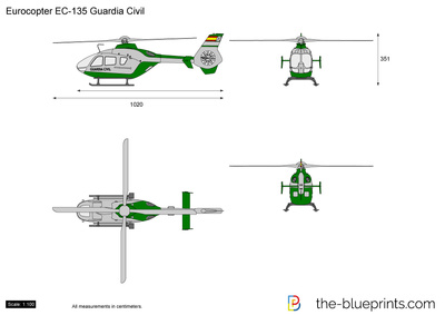 Eurocopter EC135 Guardia Civil