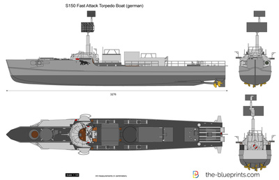 S150 Fast Attack Torpedo Boat (german)