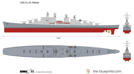 USS CL-51 Atlanta