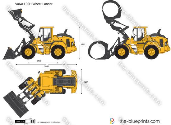 Volvo L90H Wheel Loader