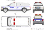 Ford Excursion NYPD
