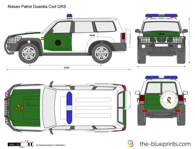 Nissan Patrol Guardia Civil GRS