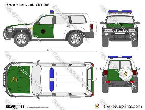 Nissan Patrol Guardia Civil GRS