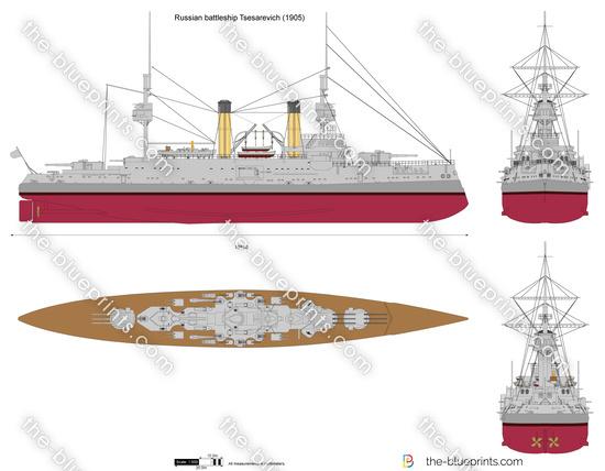 Russian battleship Tsesarevich
