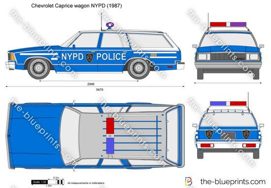 Chevrolet Caprice wagon NYPD