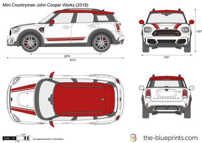 Mini Countryman John Cooper Works F60