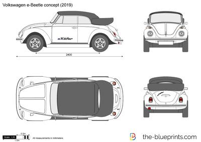 Volkswagen e-Beetle concept (2019)