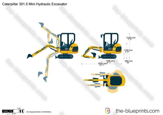 Caterpillar 301.5 Mini Hydraulic Excavator
