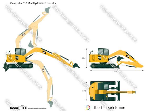 Caterpillar 310 Mini Hydraulic Excavator