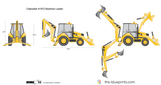Caterpillar 415F2 Backhoe Loader