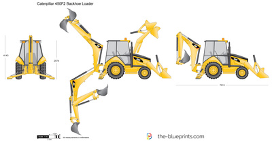 Caterpillar 450F2 Backhoe Loader
