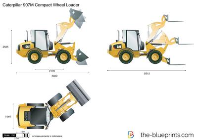 Caterpillar 907M Compact Wheel Loader