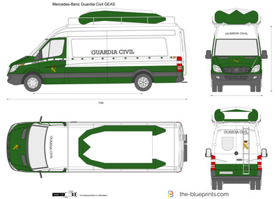 Mercedes-Benz Guardia Civil GEAS