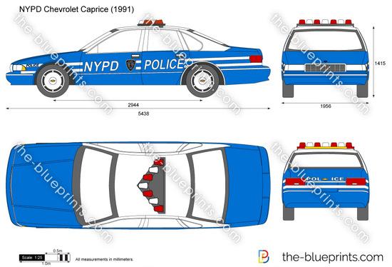 NYPD Chevrolet Caprice
