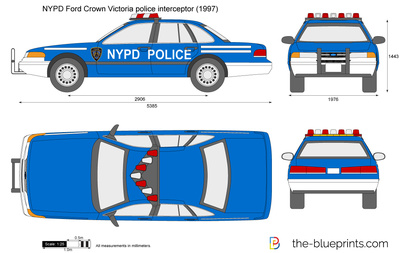 NYPD Ford Crown Victoria police interceptor