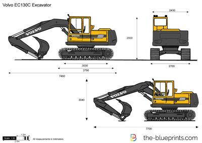 Volvo EC130C Excavator