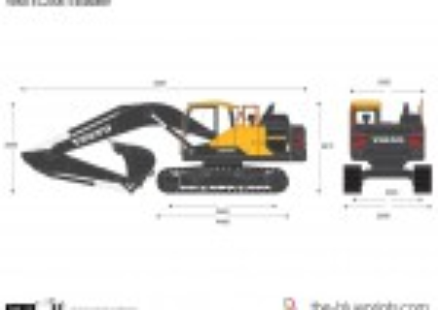 Volvo EC200E Excavator