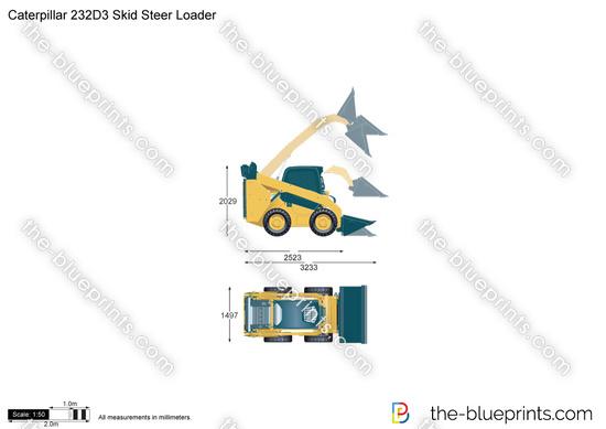 Caterpillar 232D3 Skid Steer Loader