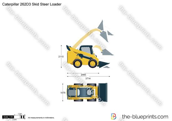 Caterpillar 262D3 Skid Steer Loader