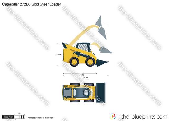 Caterpillar 272D3 Skid Steer Loader