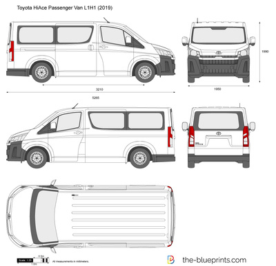 Toyota HiAce Passenger Van L1H1