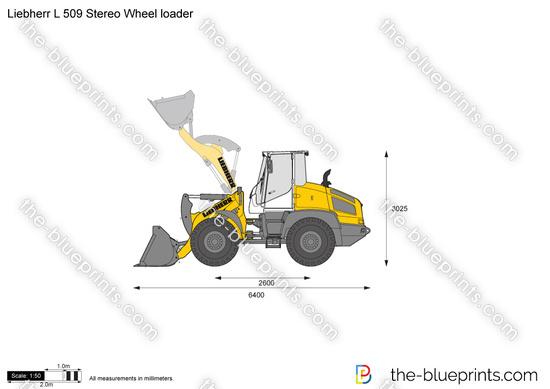 Liebherr L 509 Stereo Wheel loader