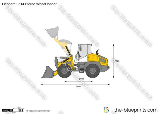 Liebherr L 514 Stereo Wheel loader