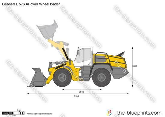 Liebherr L 576 XPower Wheel loader