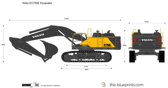 Volvo EC750E Excavator