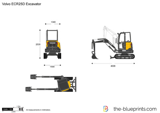 Volvo ECR25D Excavator