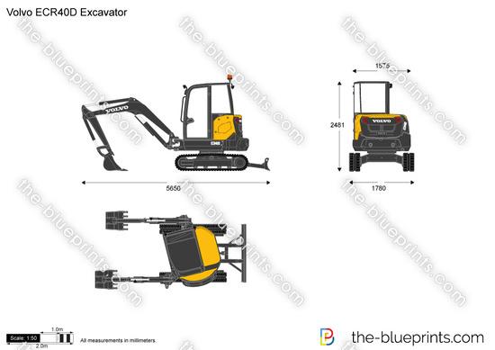 Volvo ECR40D Excavator
