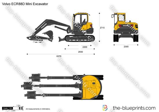 Volvo ECR88D Mini Excavator