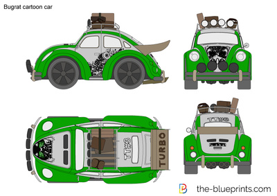 Bugrat cartoon car