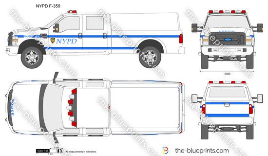 NYPD F-350