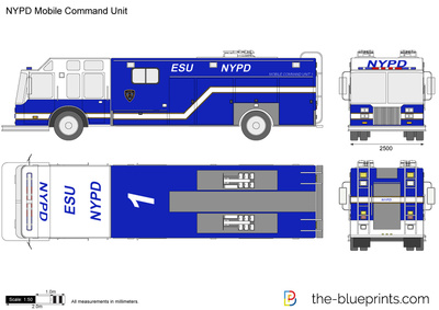 NYPD Mobile Command Unit