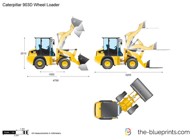 Caterpillar 903D Wheel Loader