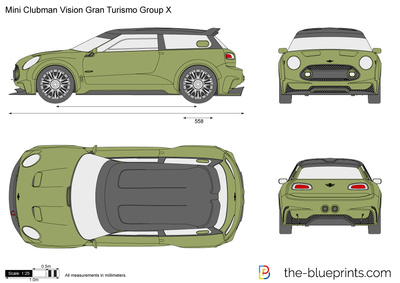 Mini Clubman Vision Gran Turismo Group X