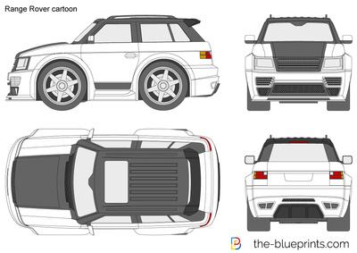 Range Rover cartoon