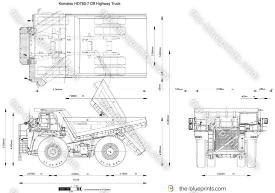 Komatsu HD785-7 Off Highway Truck