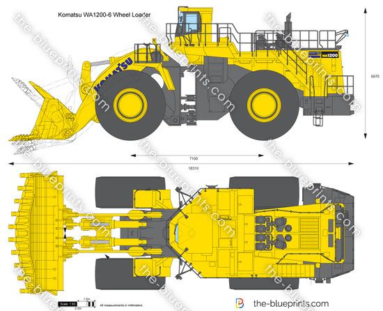 Komatsu WA1200-6 Wheel Loader