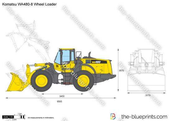 Komatsu WA480-8 Wheel Loader